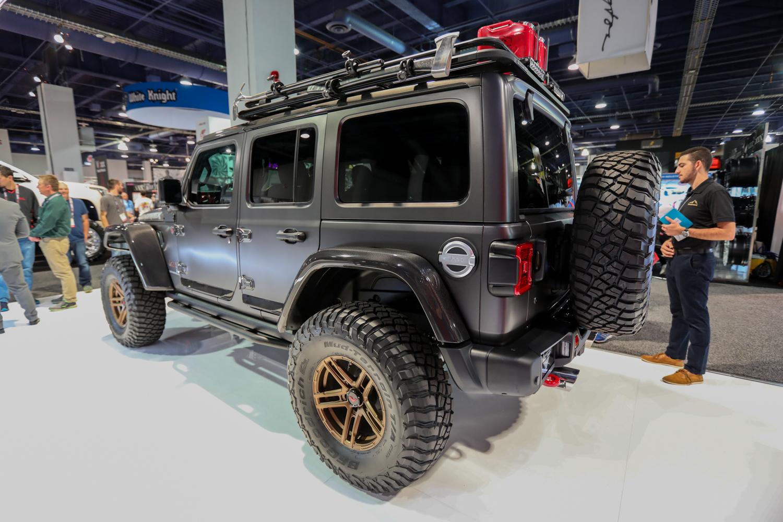 2018 SEMA Trends upscale jeeps