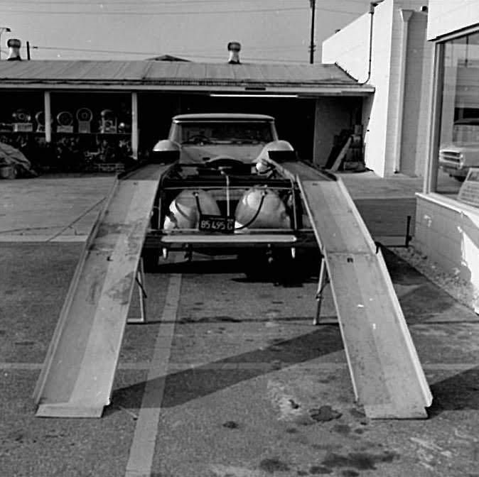 Cheetah Transporter rear ramps down