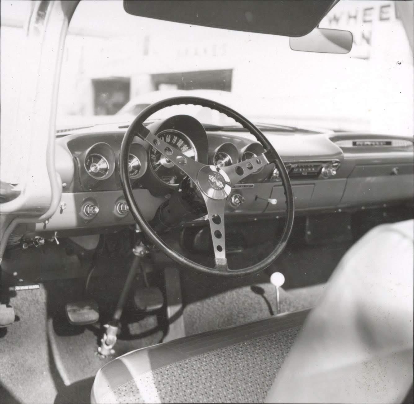 Cheetah Transporter interior vintage