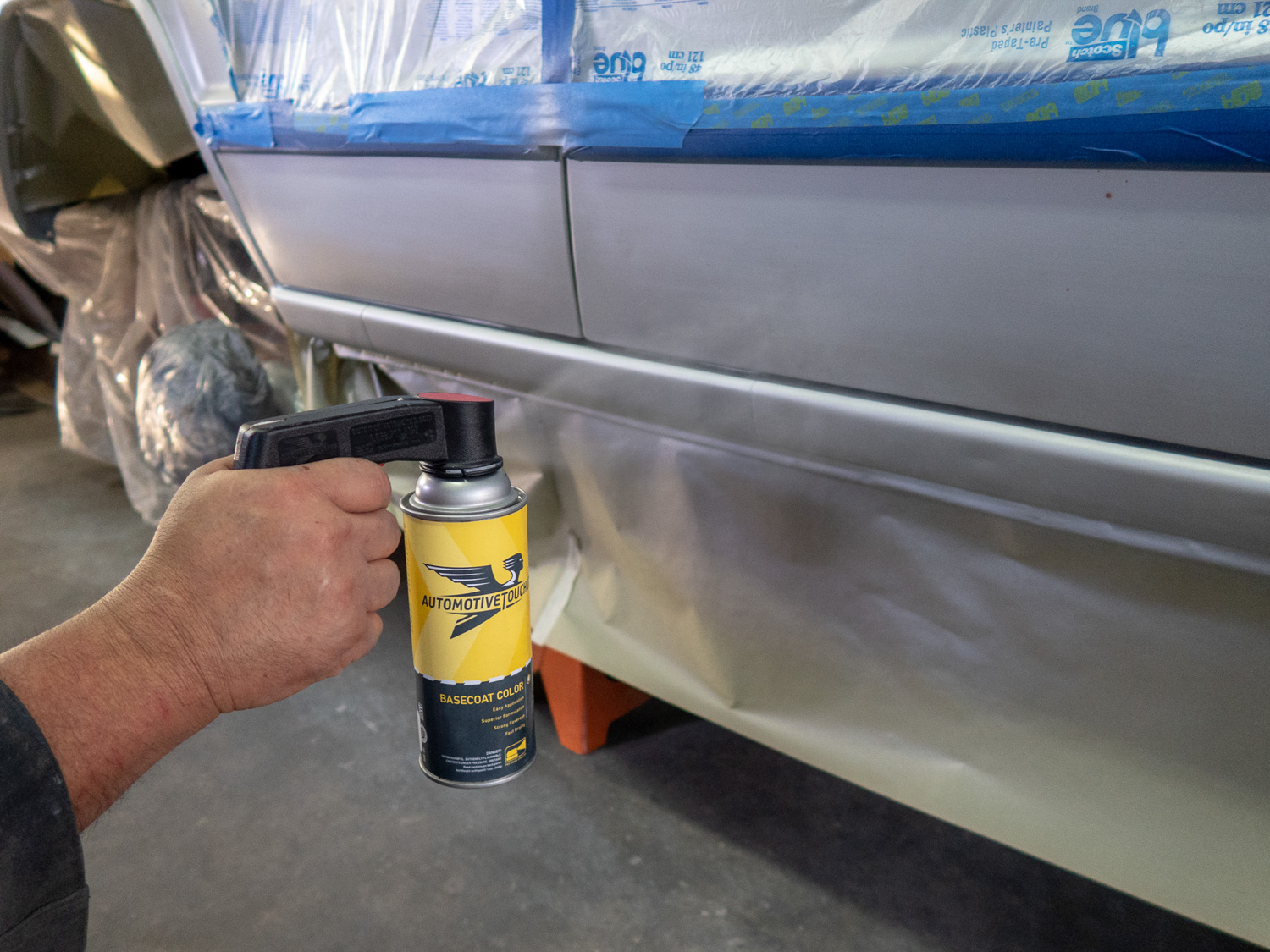 spray paint touch up sprayer can