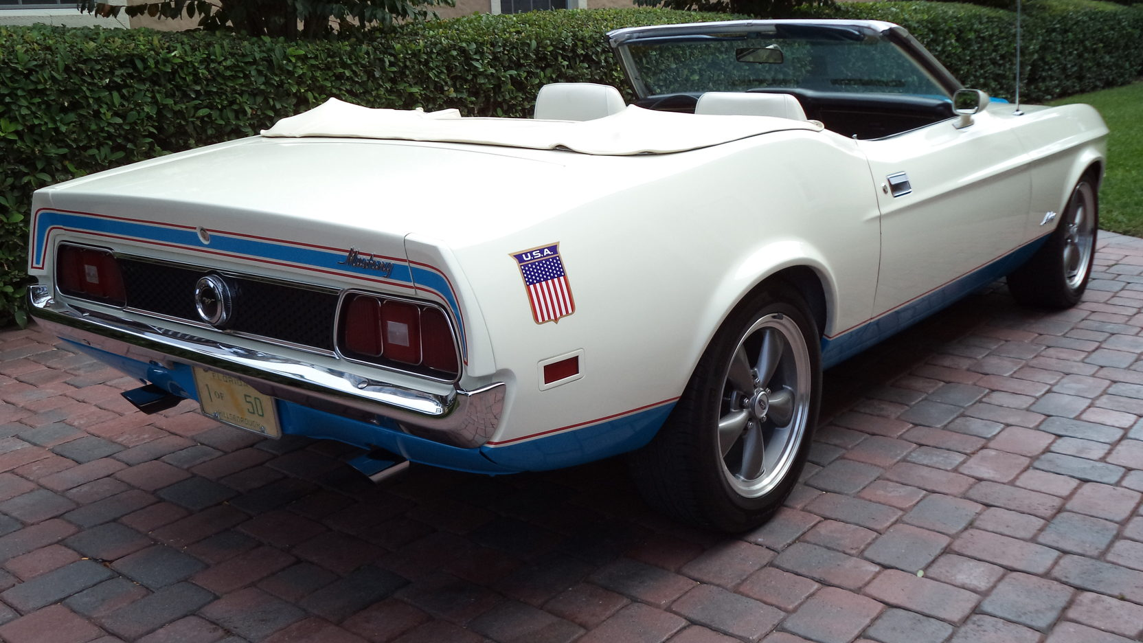 1972 Ford Mustang Sprint USA rear 3/4