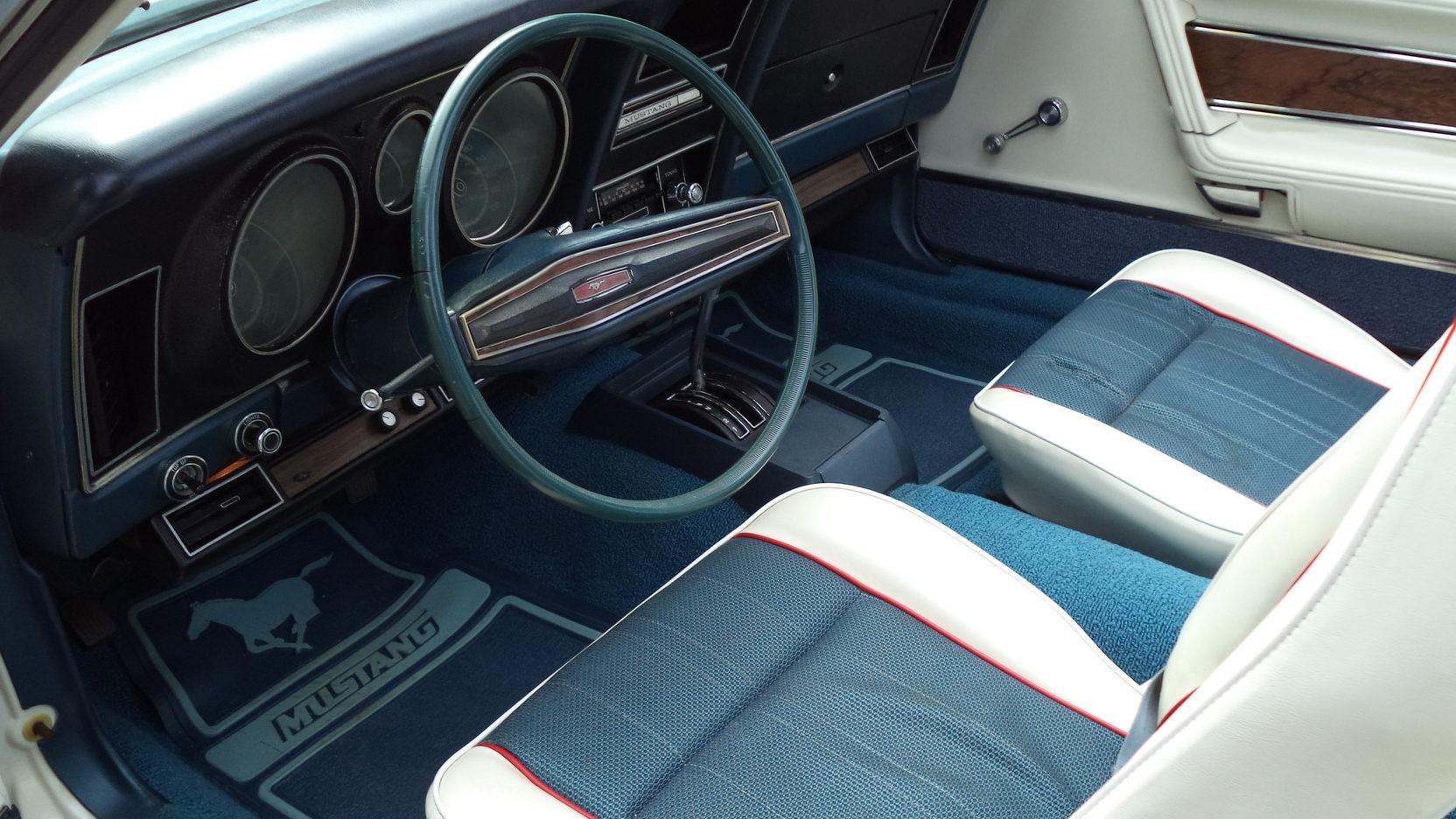 1972 Ford Mustang Sprint USA interior