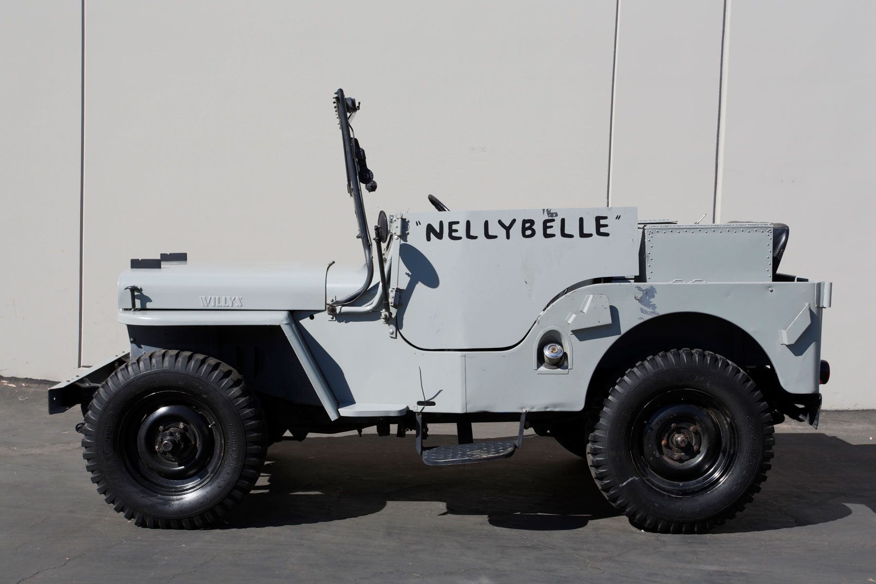 Nellybelle, the 1946 Willys CJ-2A Jeep profile