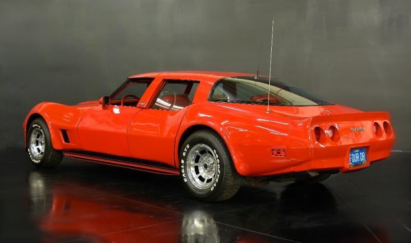 1980 Chevrolet Corvette four door rear 3/4