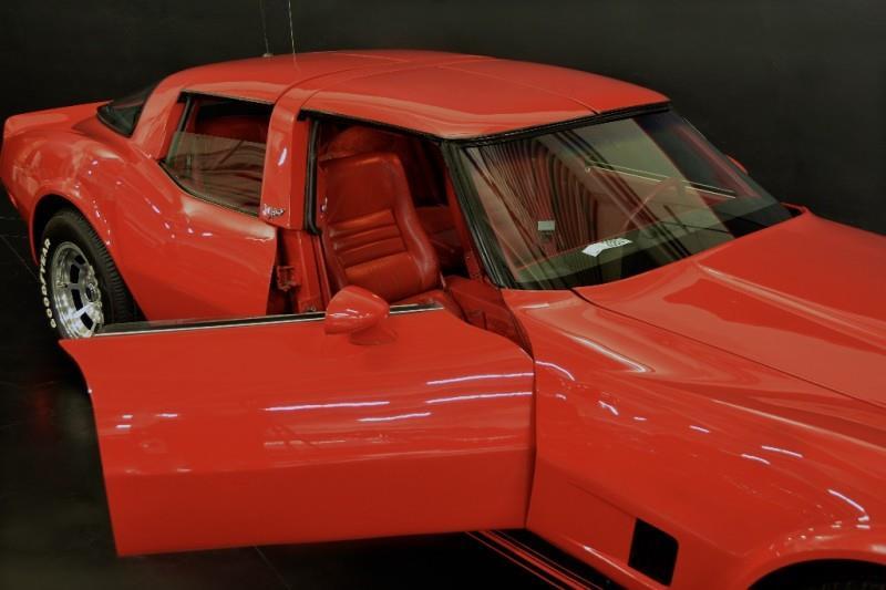 1980 Chevrolet Corvette four door side doors