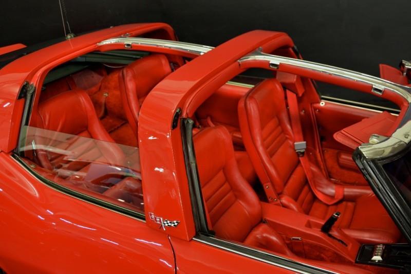 1980 Chevrolet Corvette four door t tops off