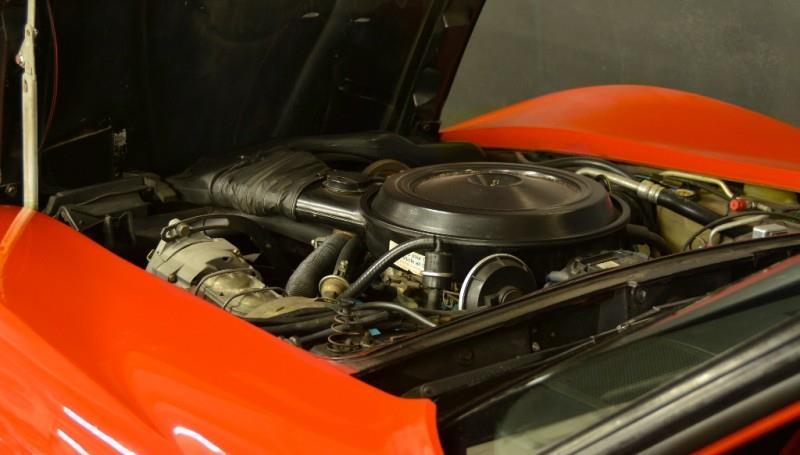 1980 Chevrolet Corvette four door engine