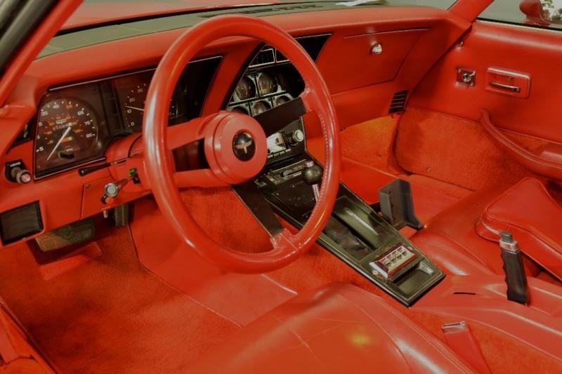 1980 Chevrolet Corvette four door interior