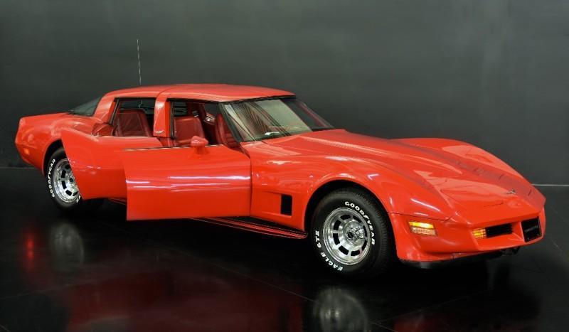 1980 Chevrolet Corvette four door open side