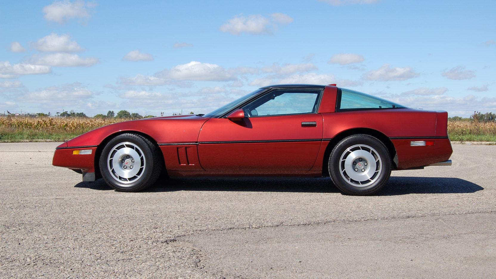 1987 Chevrolet Corvette side profile