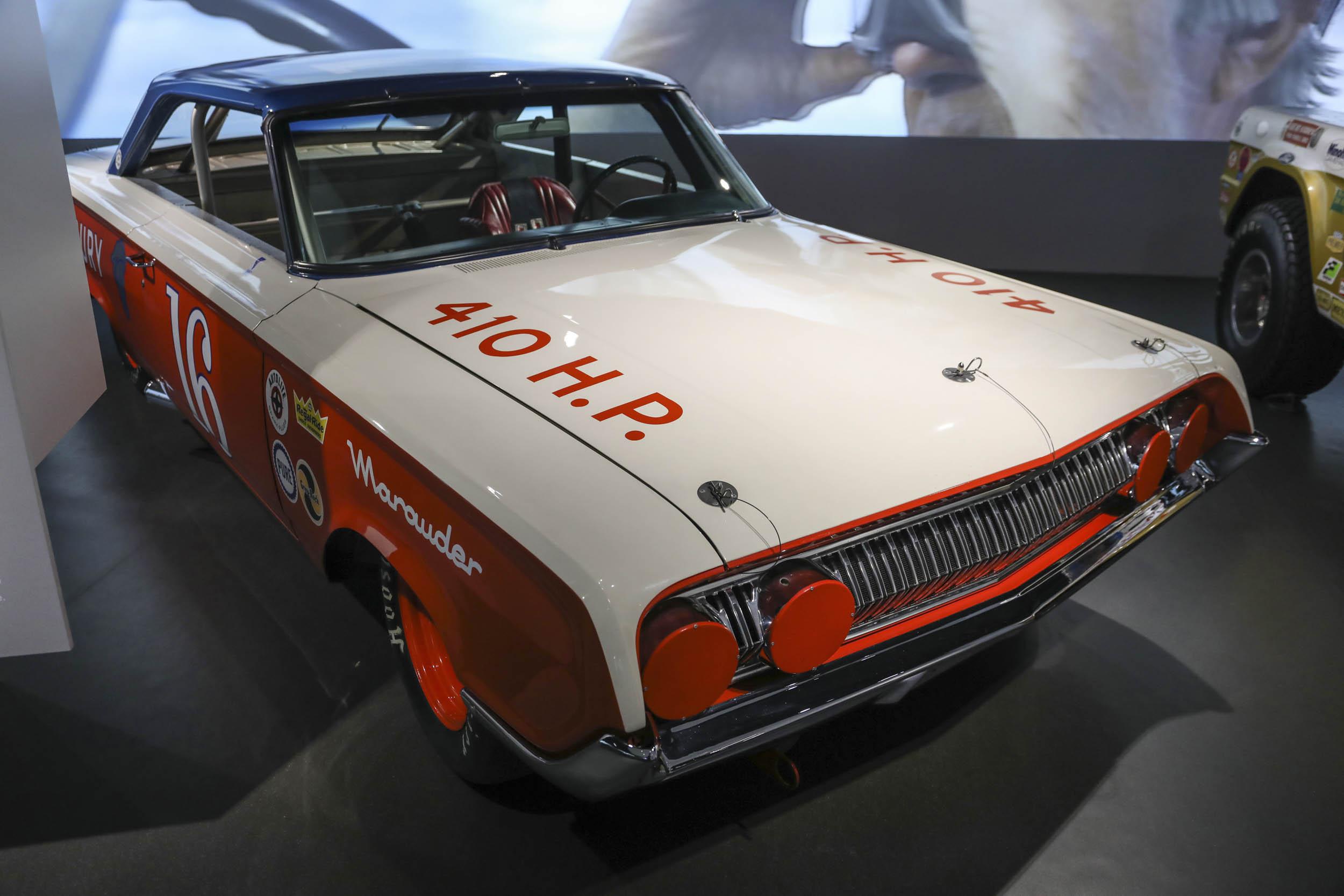 410 HP car as part of the Parnelli Jones Petersen exhibit
