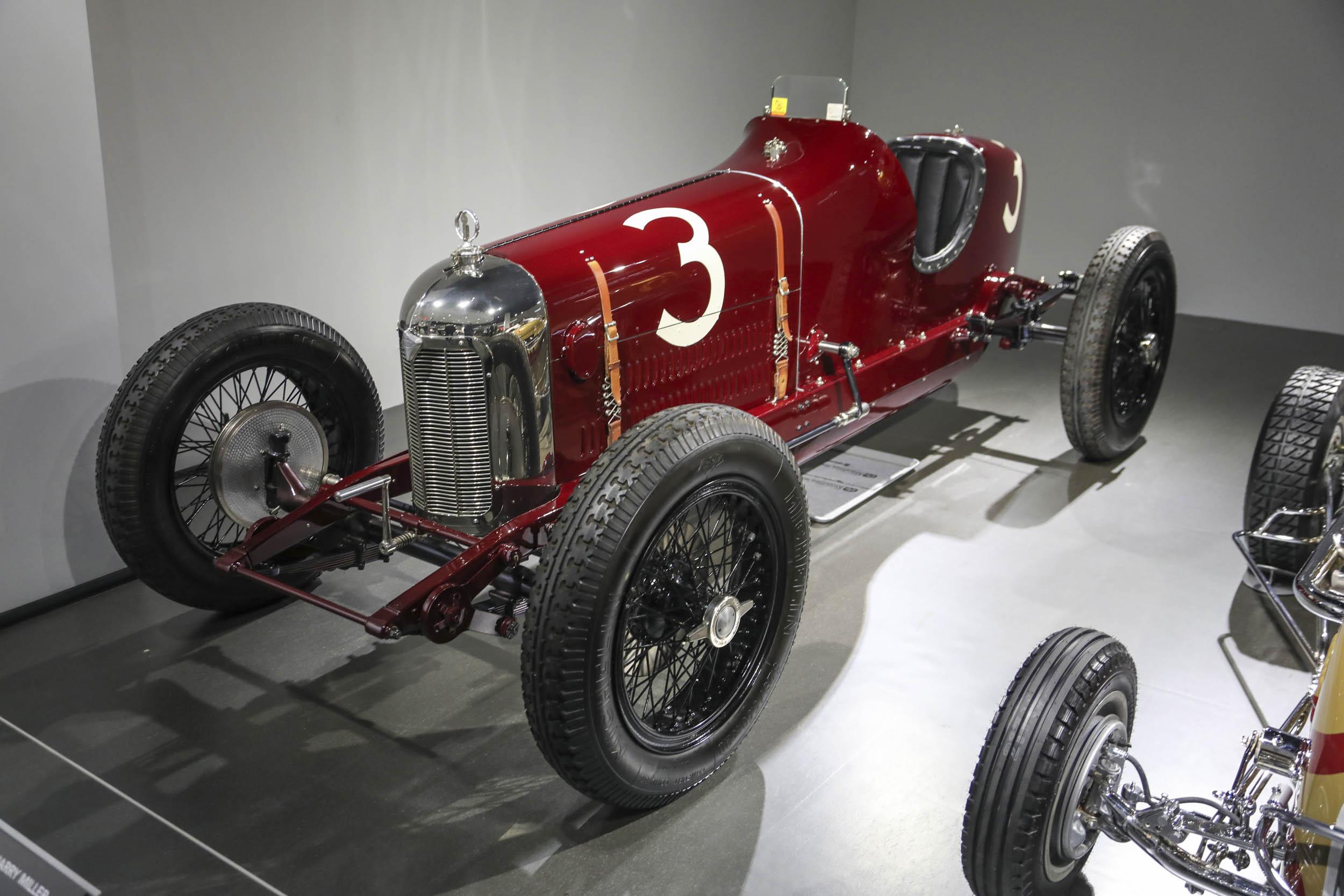 classic race car Petersen Museum