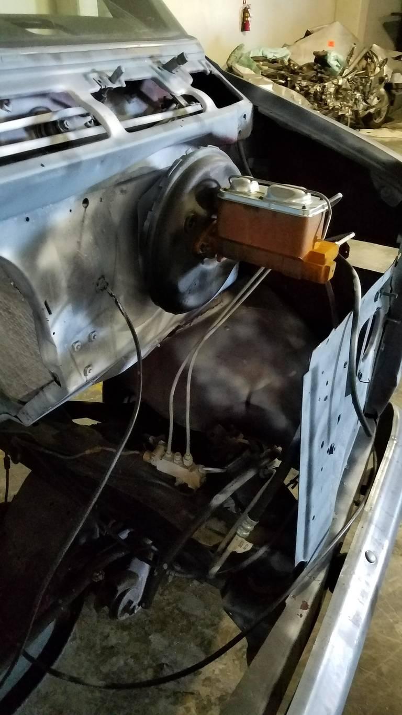 Wild Cherry engine bay
