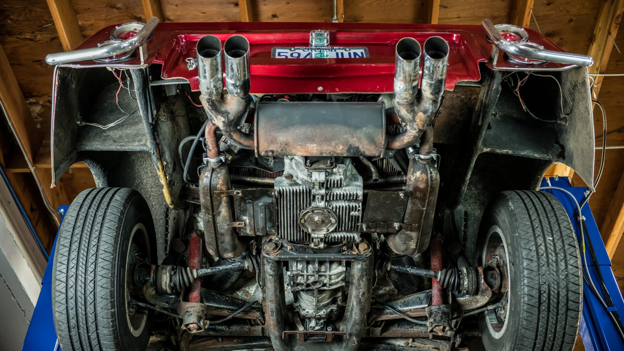 Bradley GT underside