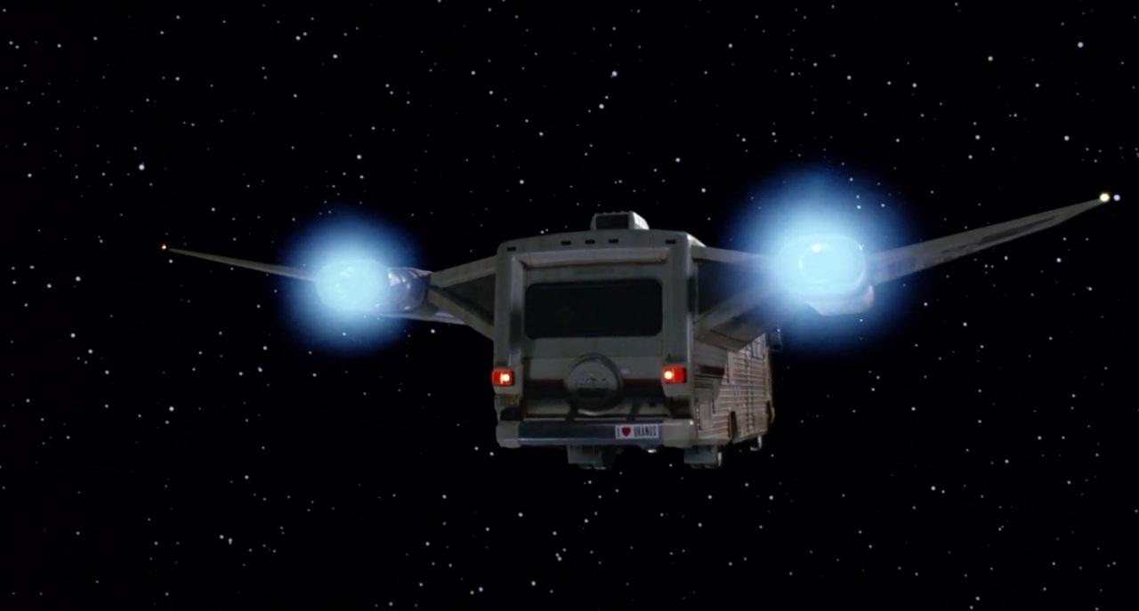 Spaceballs Winnebago Chieftain rear