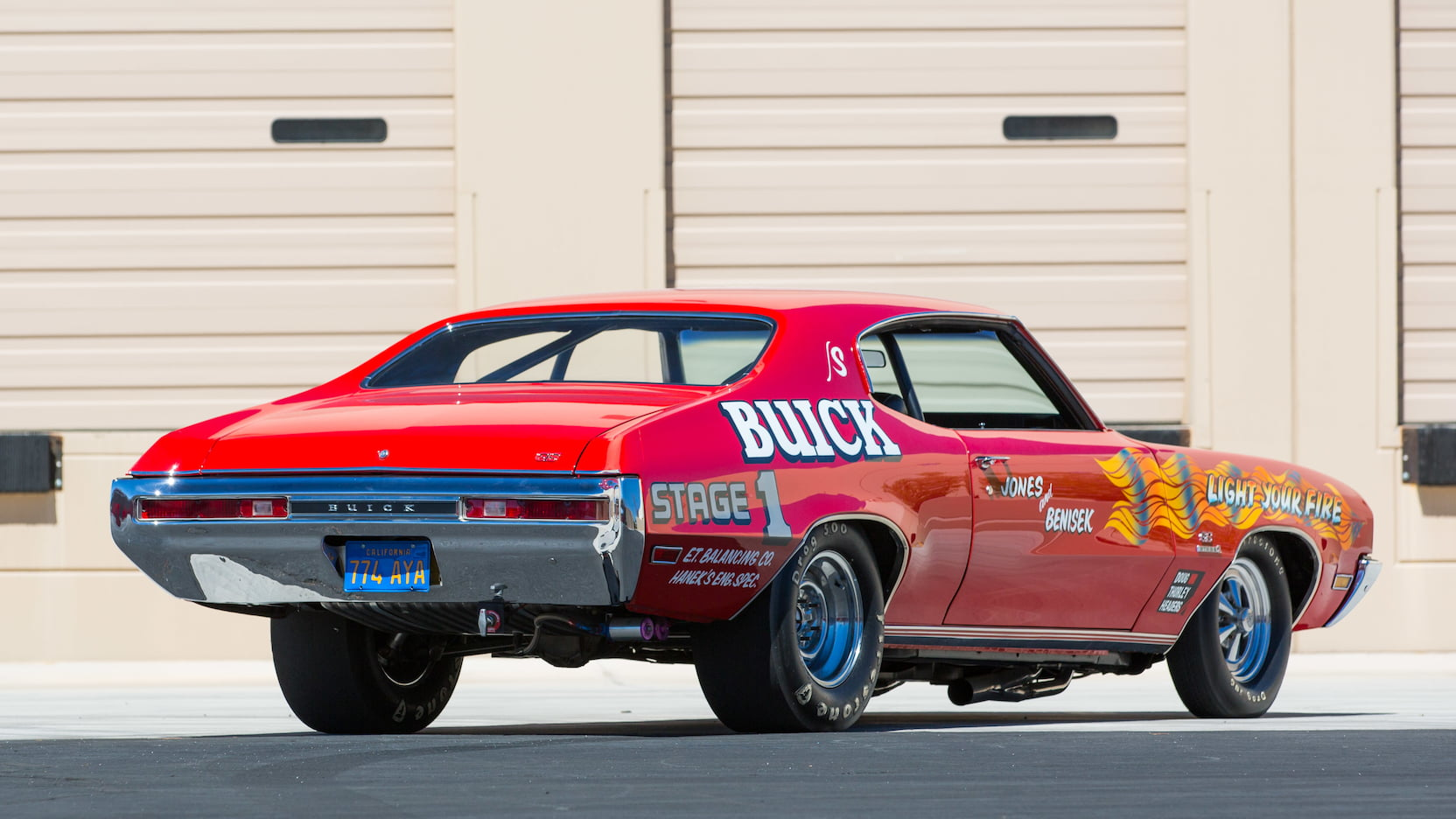 1970 Buick GS Stage II rear 3/4