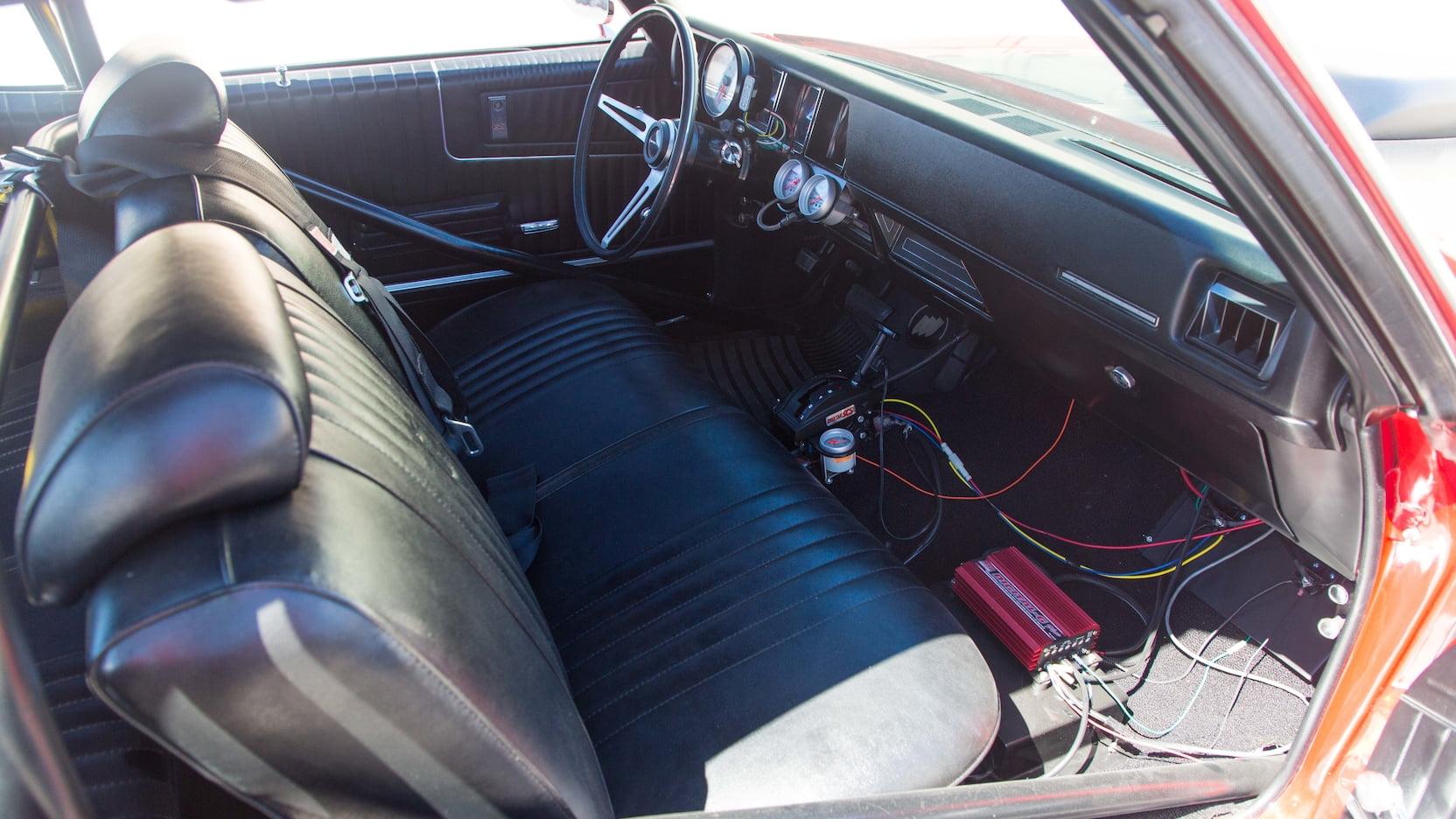 1970 Buick GS Stage II passenger interior
