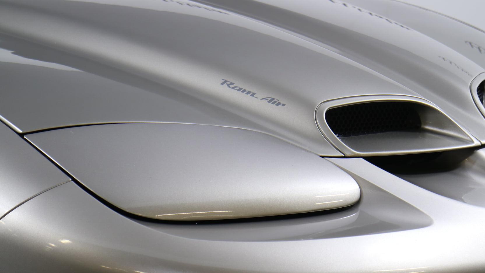 2001 Pontiac Firebird Trans Am WS6 hood detail
