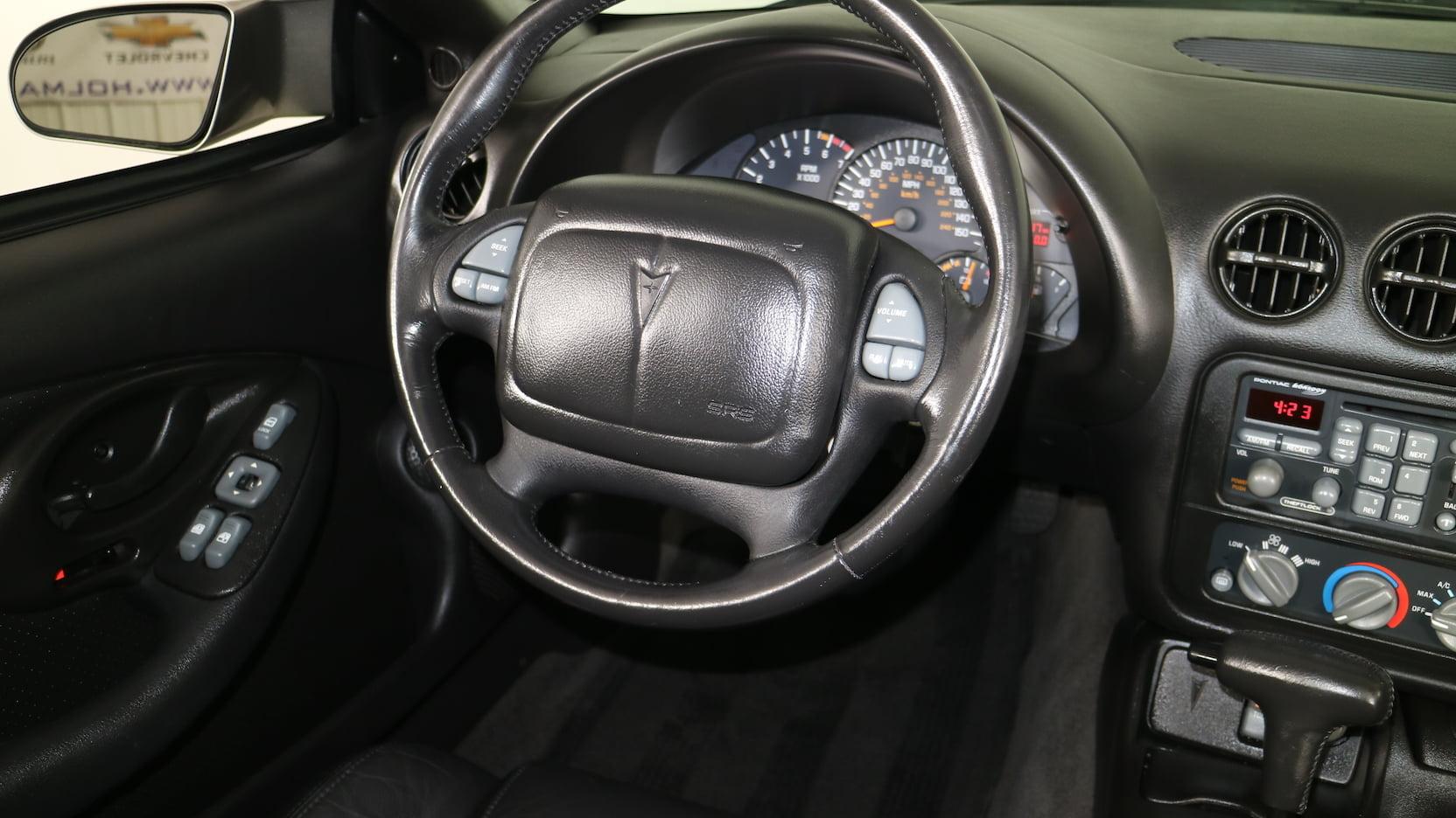 2001 Pontiac Firebird Trans Am WS6 steering wheel