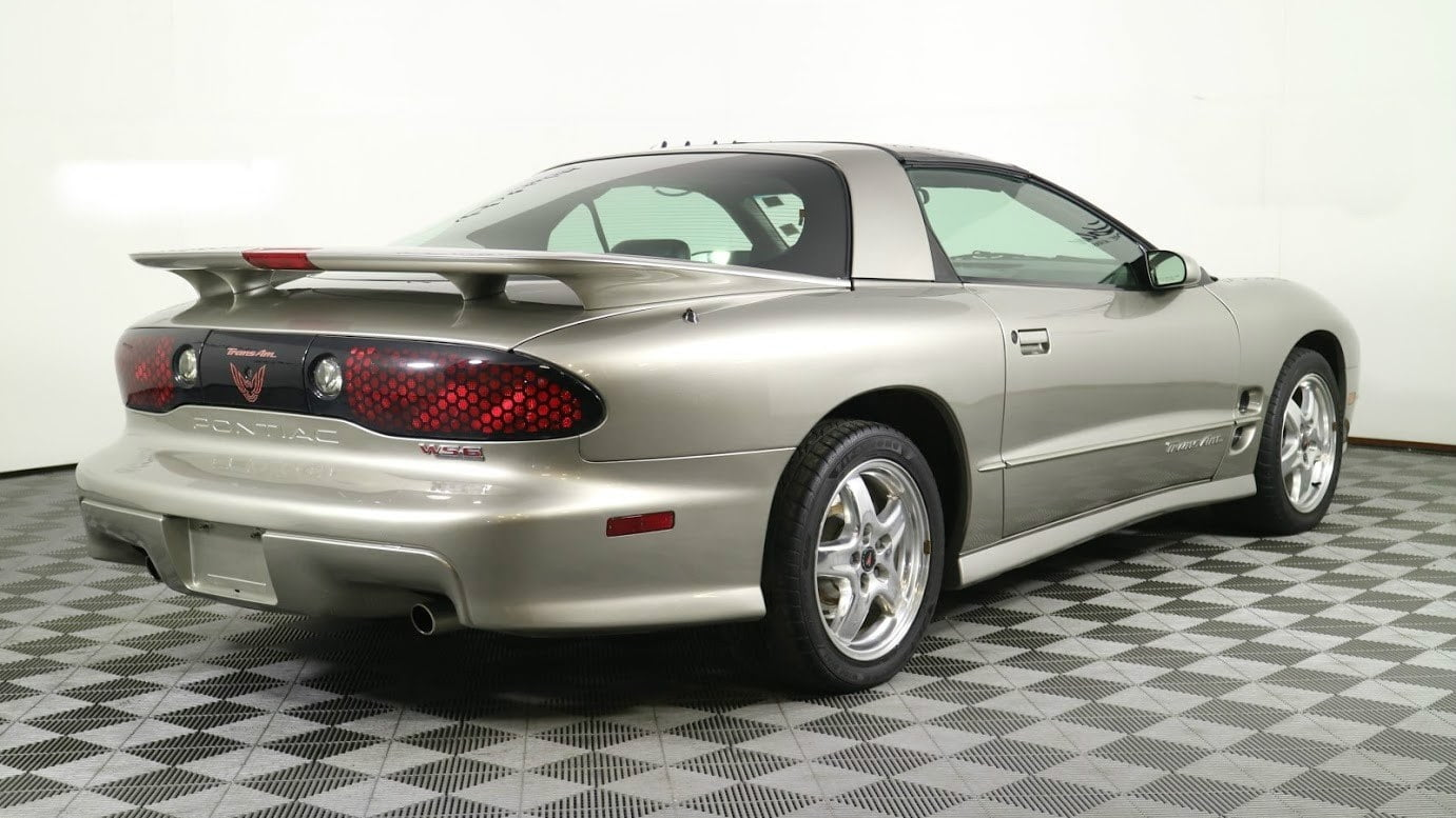 2001 Pontiac Firebird Trans Am WS6 rear 3/4