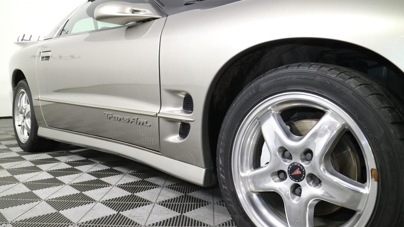 2001 Pontiac Firebird Trans Am WS6 wheel and side detail