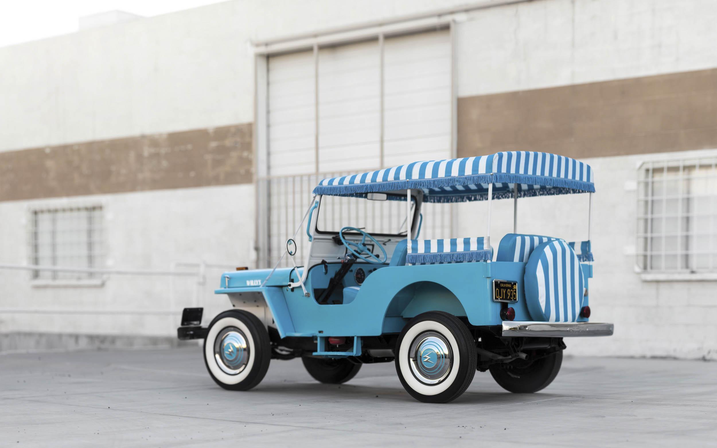 1960 Willys Jeep Gala rear 3/4