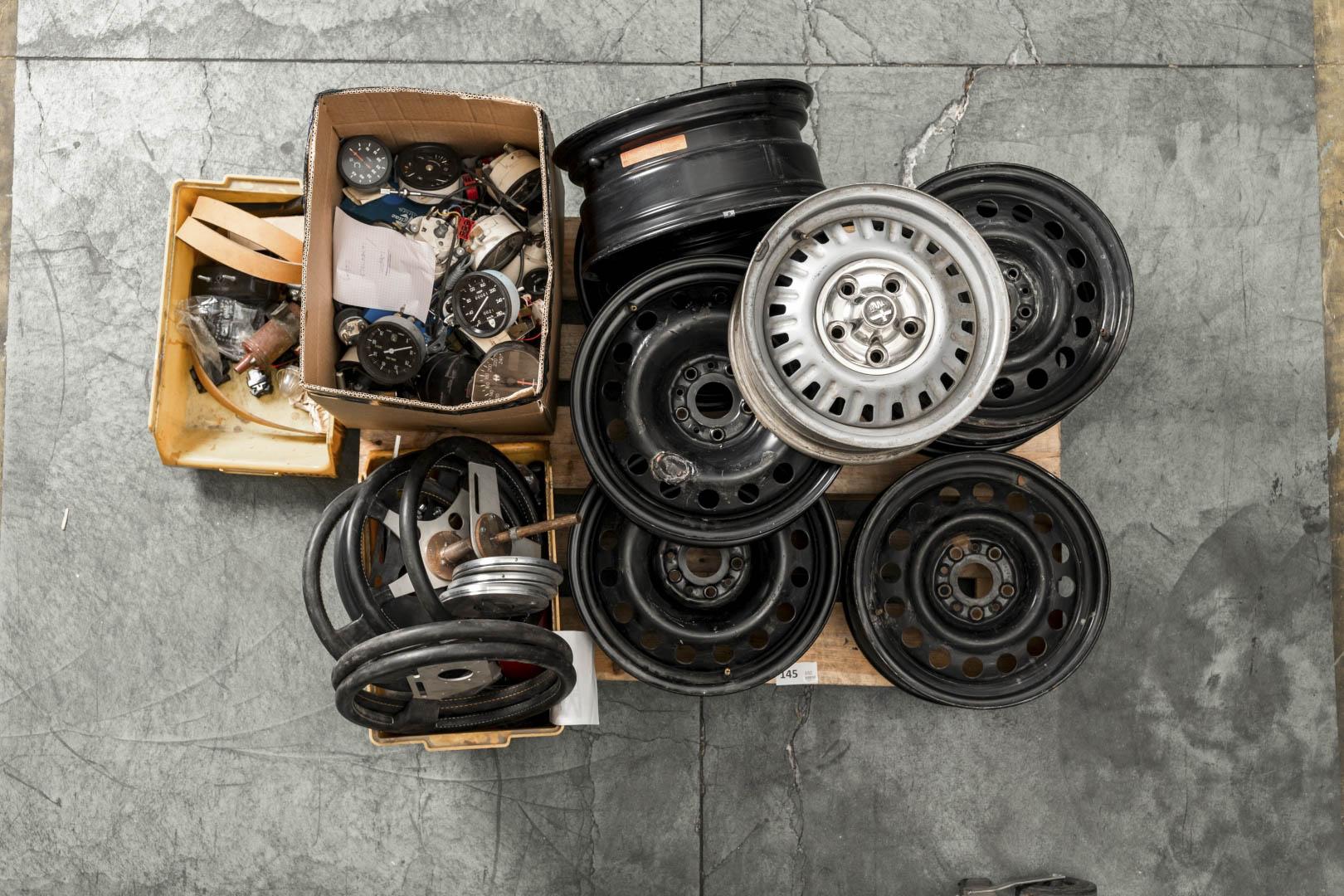Bertone Spare parts from Stile Bertone workshop 1970's-2000's