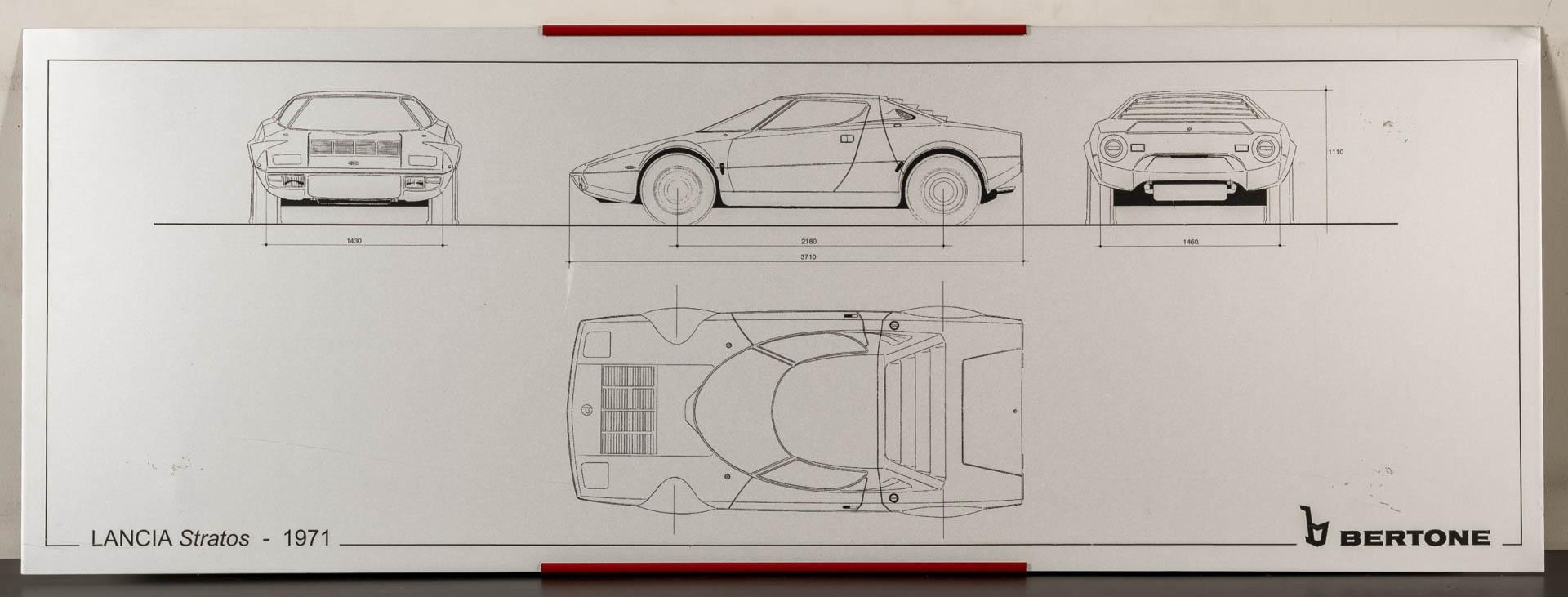 Lancia Stratos silkscreen