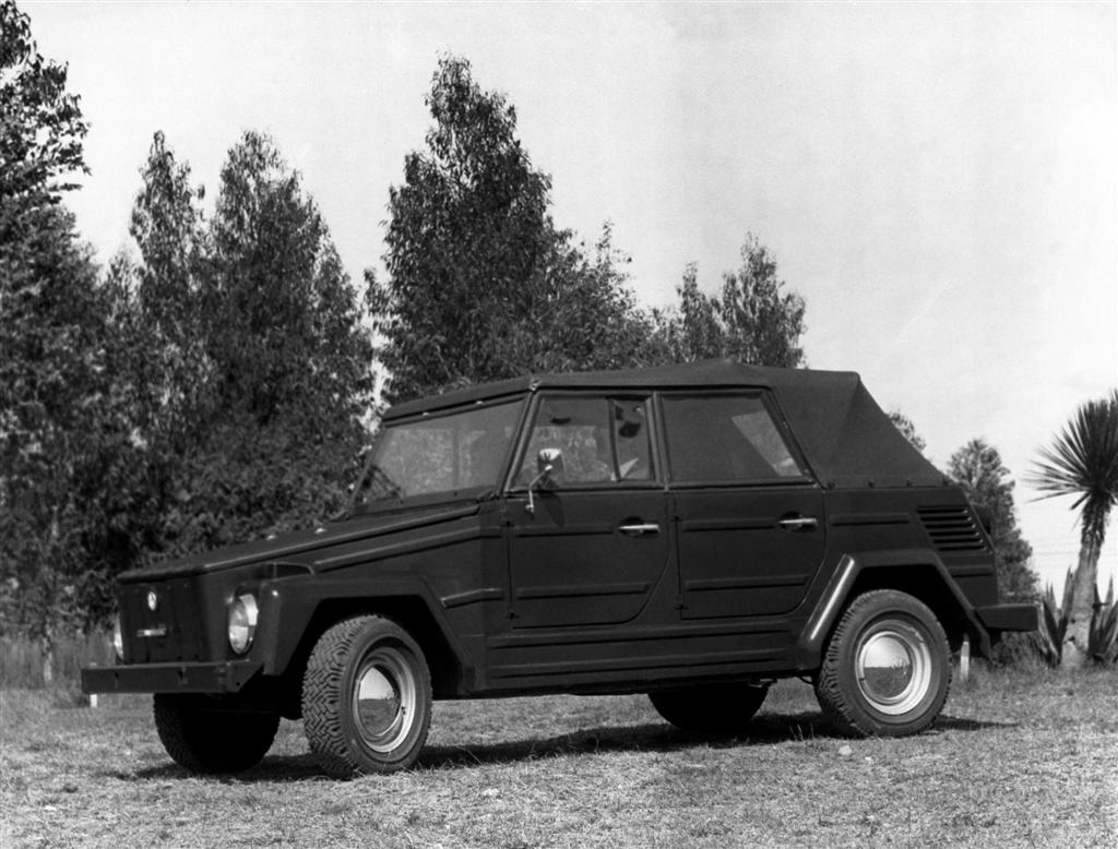1973 Volkswagen Thing front 3/4