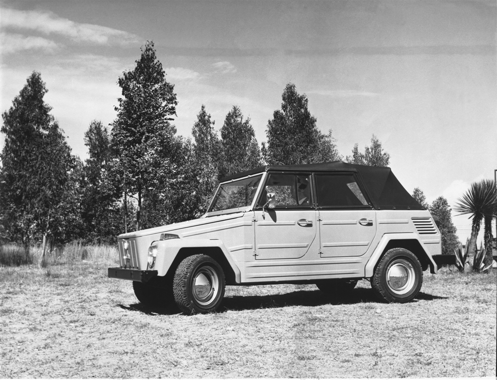 1973 Volkswagen Thing side profile top up