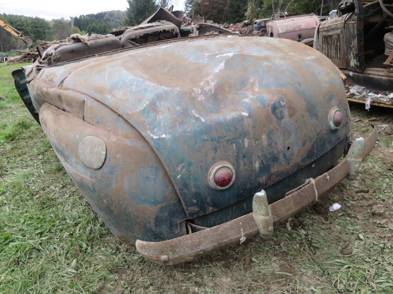 41 mercury convertible rear barn collapse