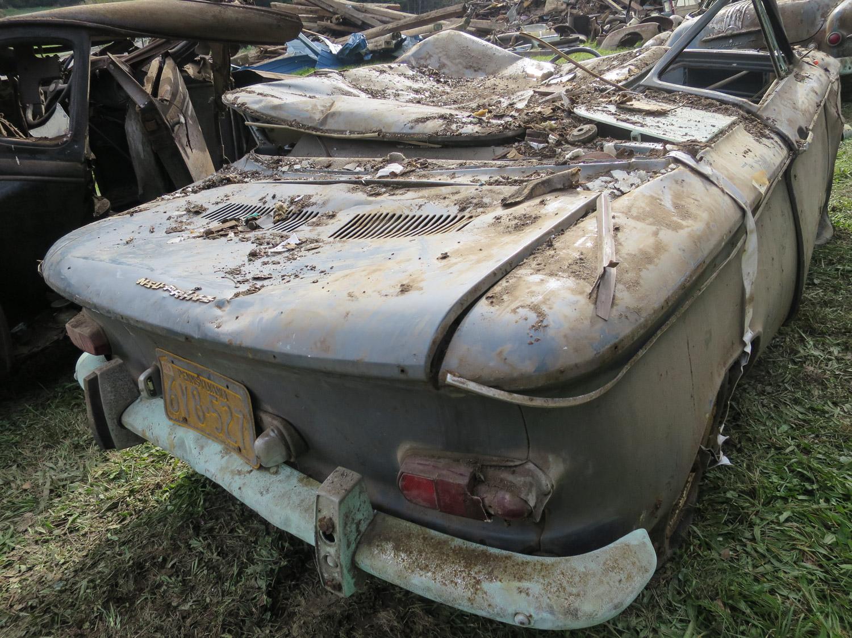 62 nsu prinz rear barn collapse