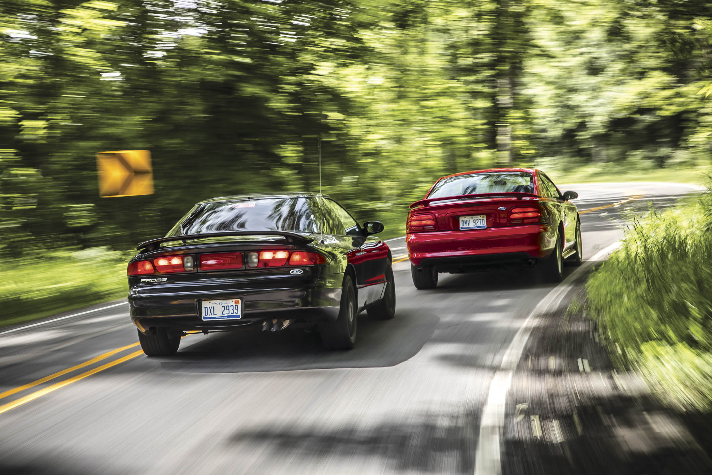 Today it's hard to believe Ford would have sacrificed its beloved pony car for a front-drive Japanese mashup. Fortunately for enthusiasts everywhere, we had our cake and got to eat it, too.