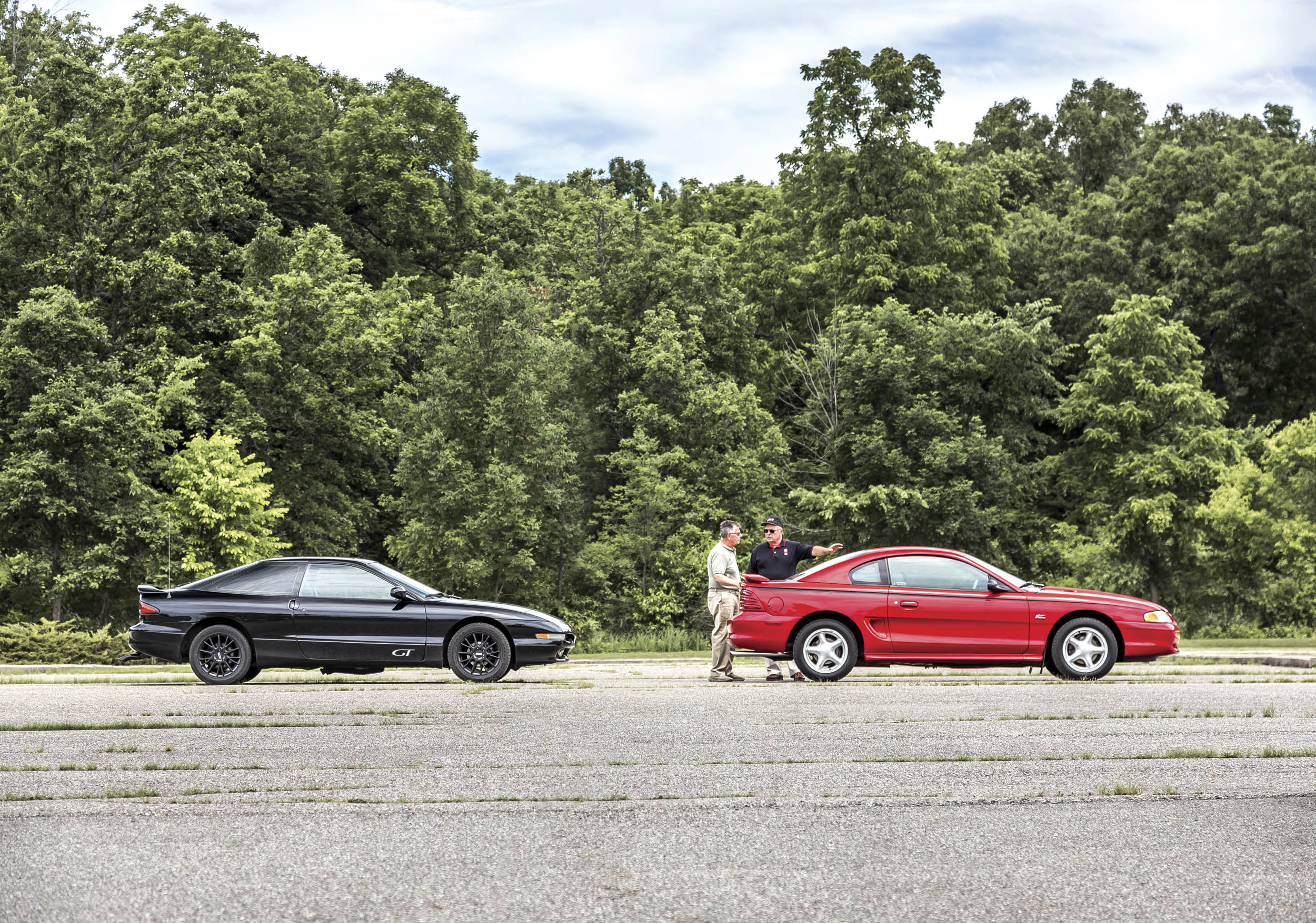 Once upon a time, bean counters and higher-ups at Ford didn't think the Probe and the Mustang could coexist. Dedicated conspirators within thought otherwise.