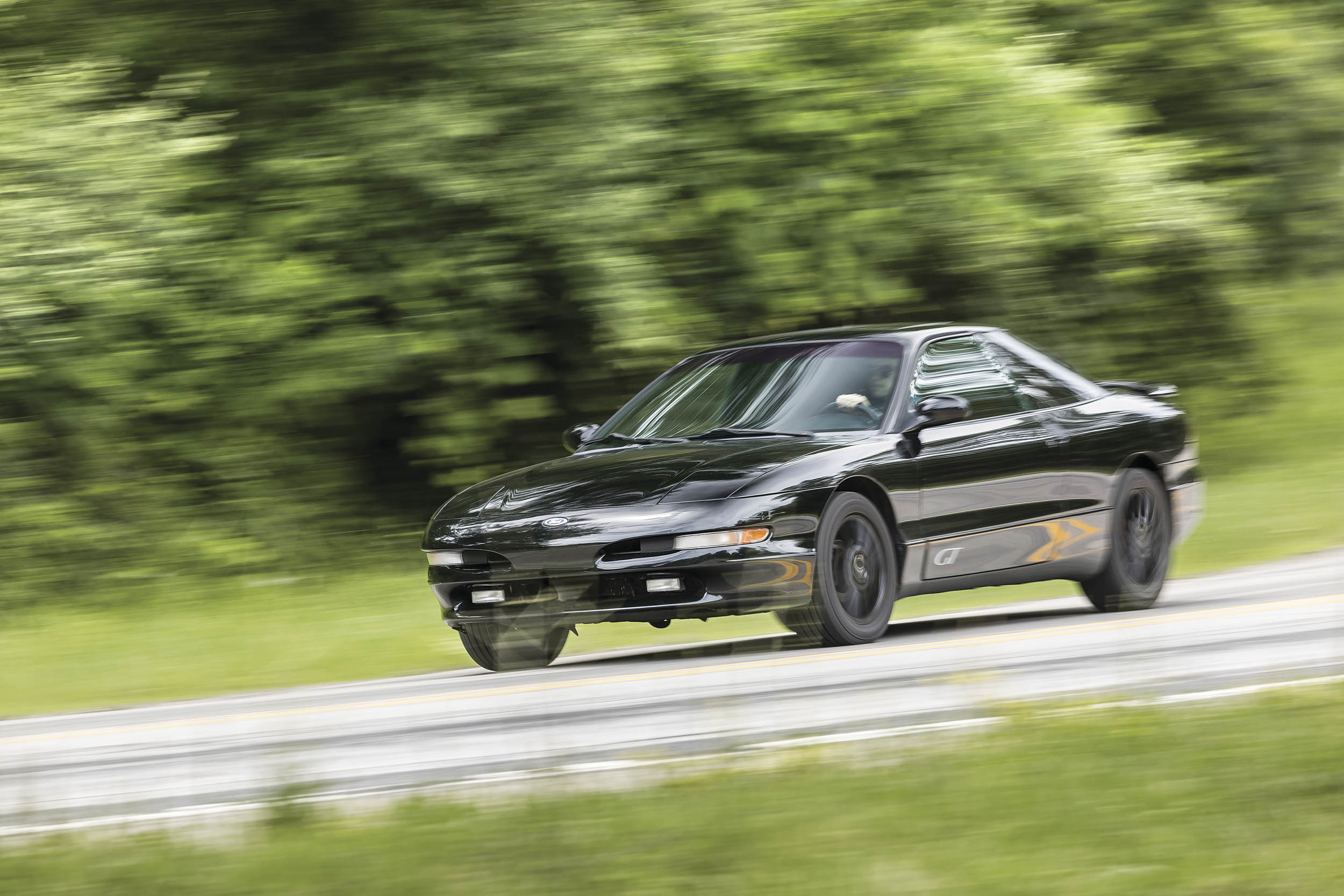 The second-gen Probe was applauded by enthusiasts and automotive press alike, for good reason: Understeer is negligible, steering is light, and it feels forever planted in curves.