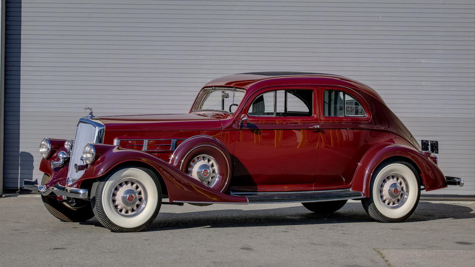 1935 Pierce-Arrow Model 1245 Silver Arrow