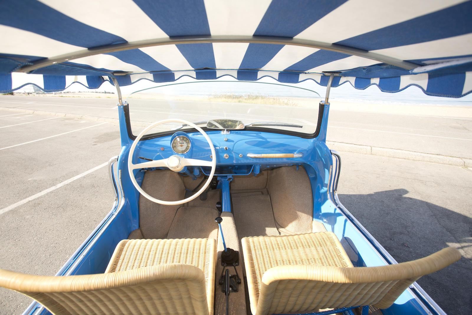 1959 Fiat Jolly interior