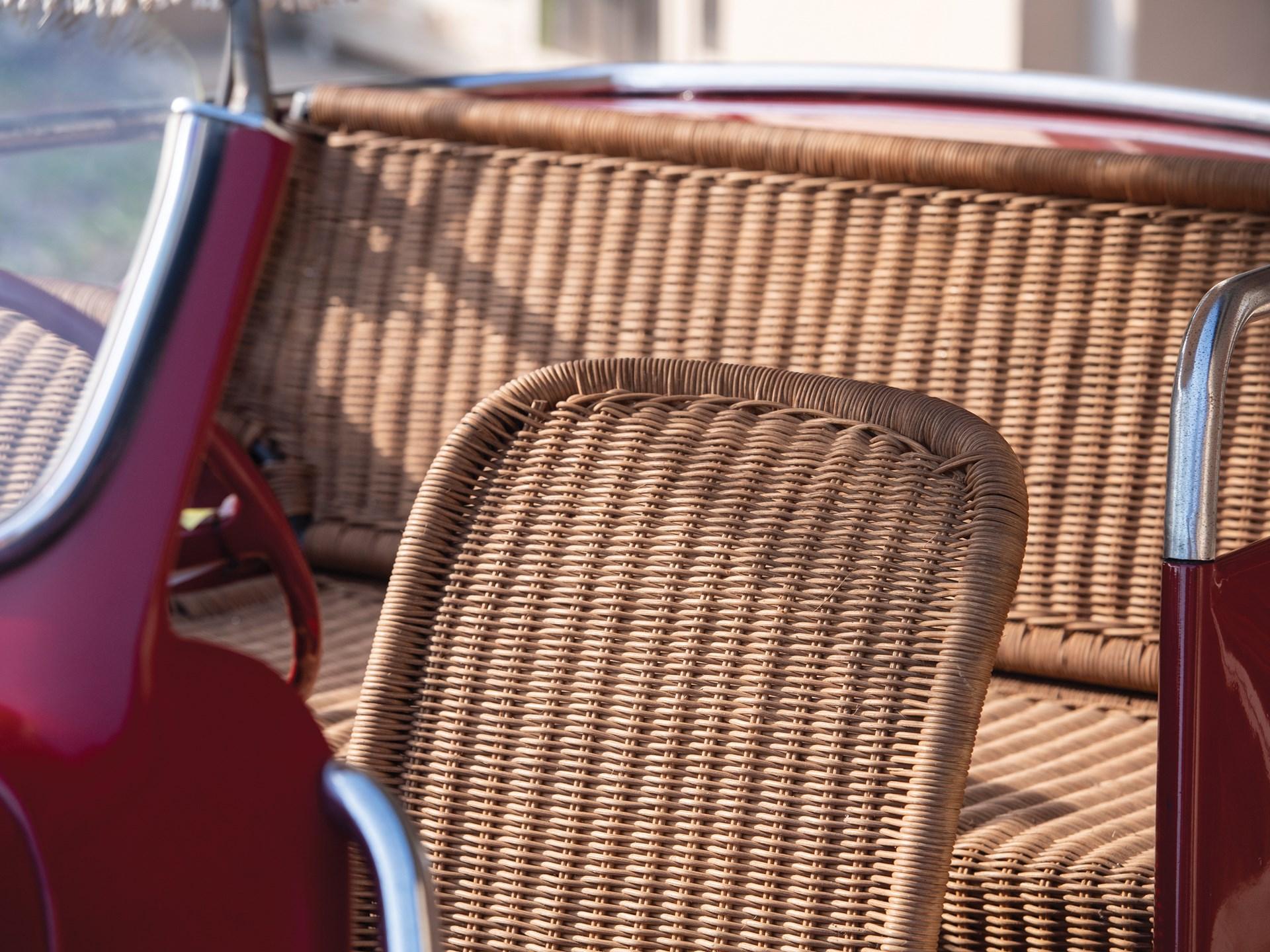 1968 Fiat Jolly seats