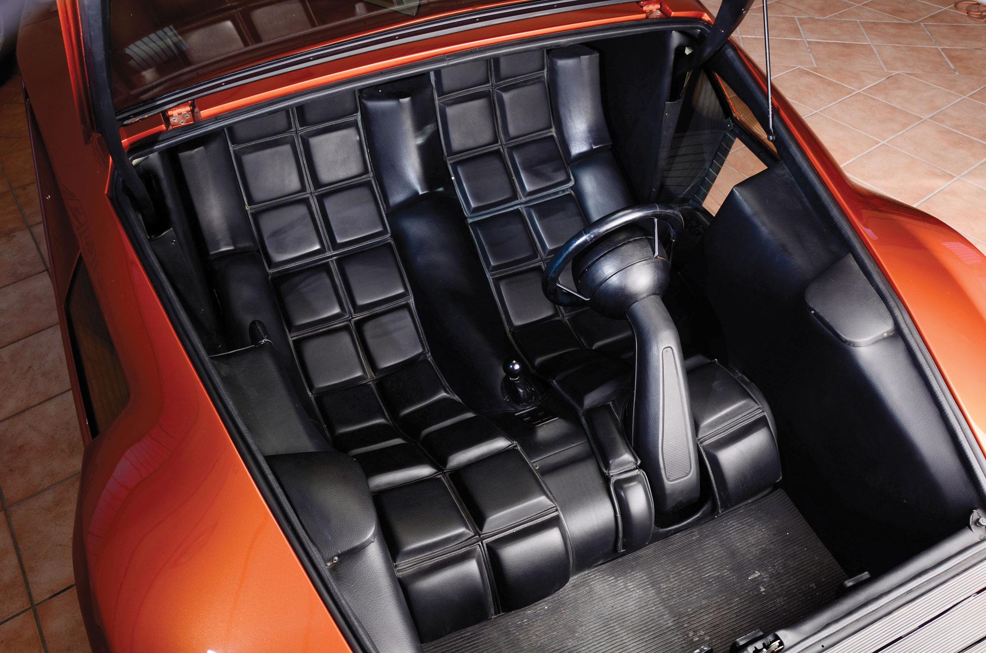 1970 Lancia Stratos HF Zero interior