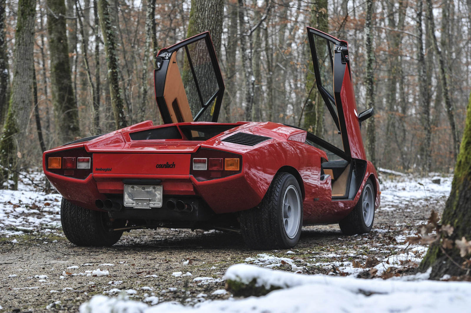 1974 Lamborghini Countach rear 3/4