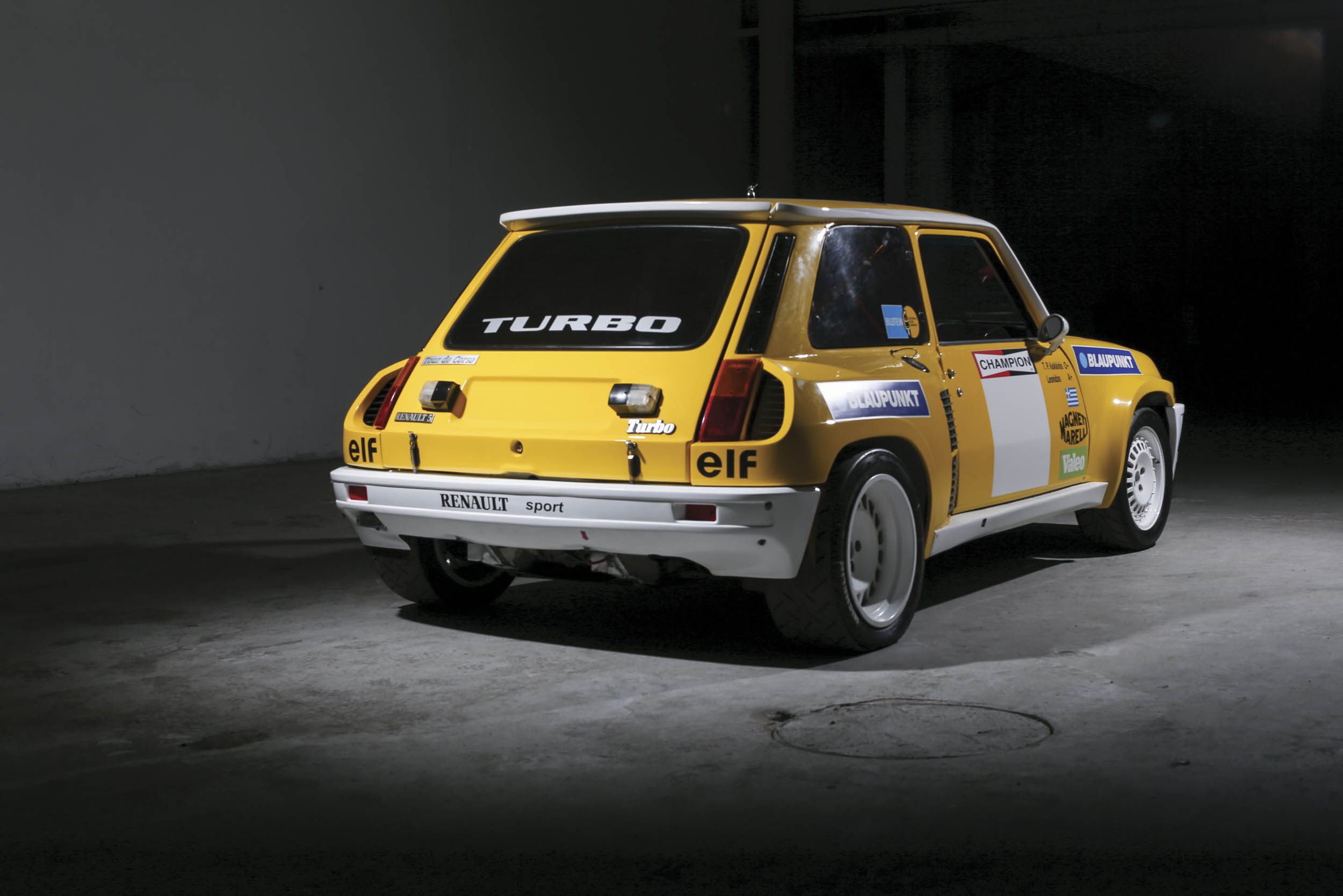 1980 Renault 5 Turbo rear 3/4