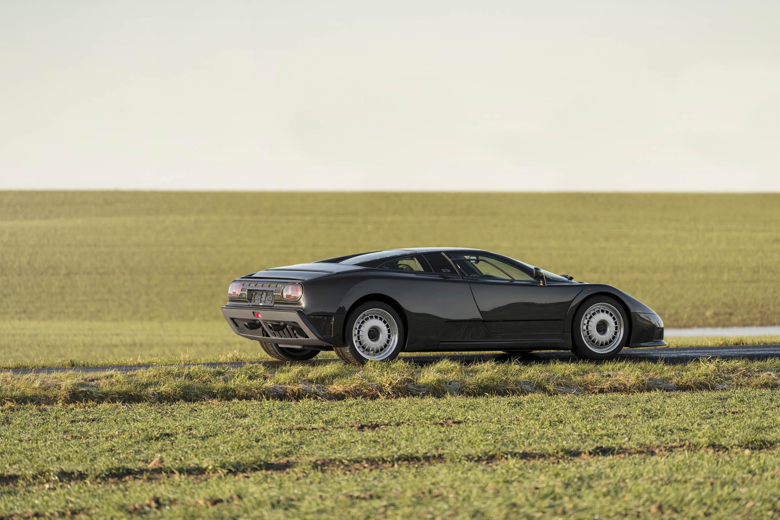 1993 Bugatti EB110 GT profile