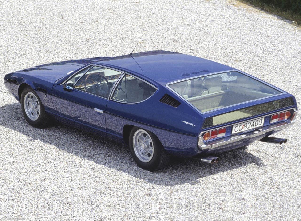1968 Lamborghini Espada rear 3/4