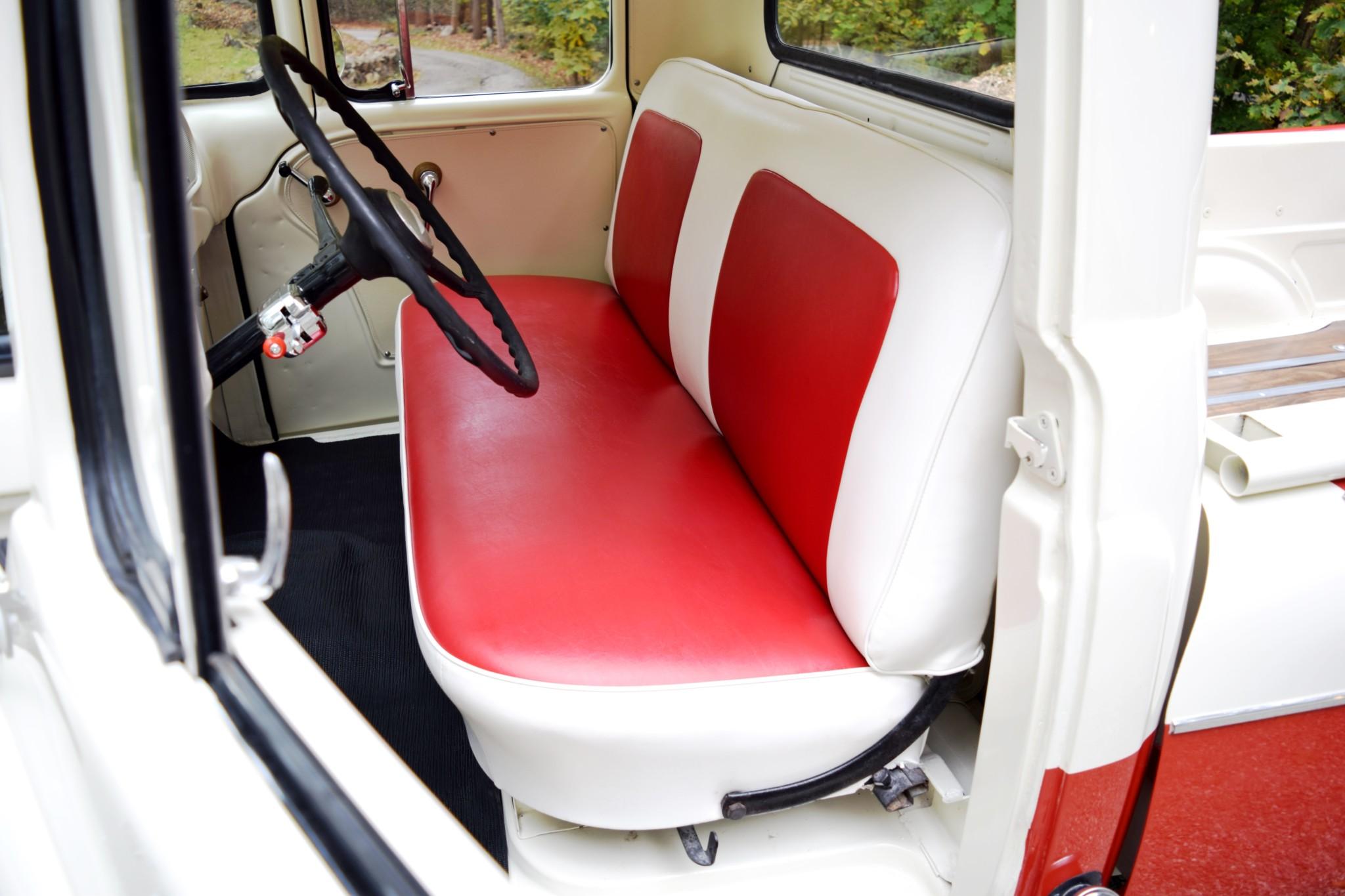 1957 Dodge D100 Sweptside interior