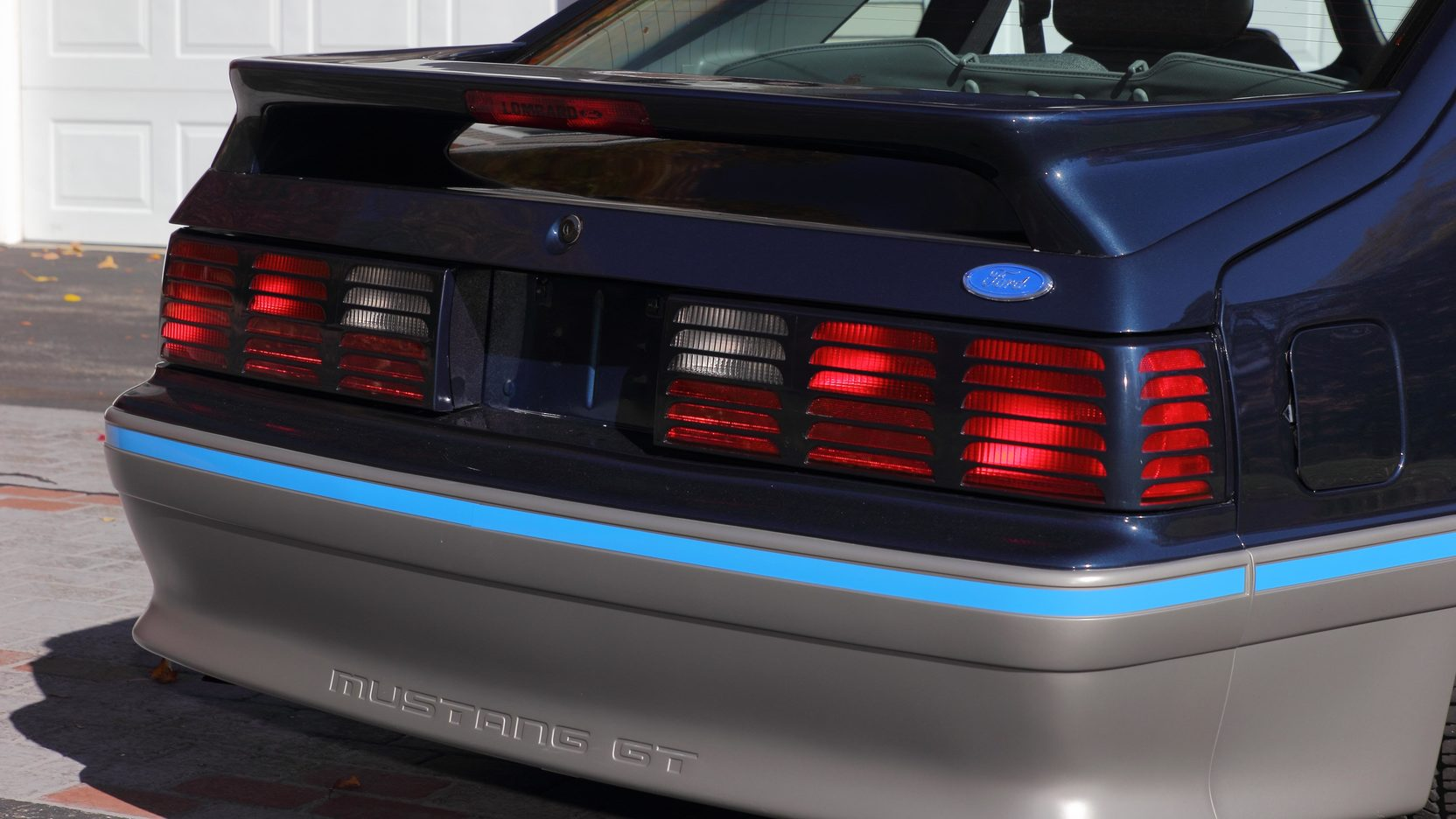 1988 Ford Mustang GT rear