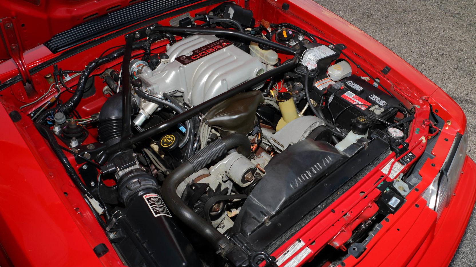 1993 Ford Mustang SVT Cobra R engine