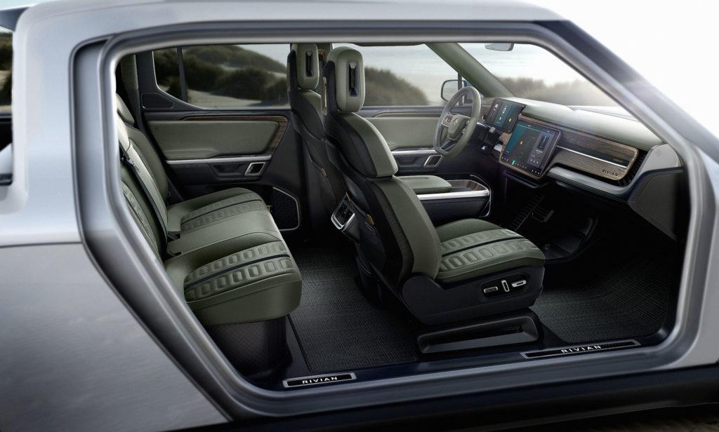 Rivian R1T Concept interior