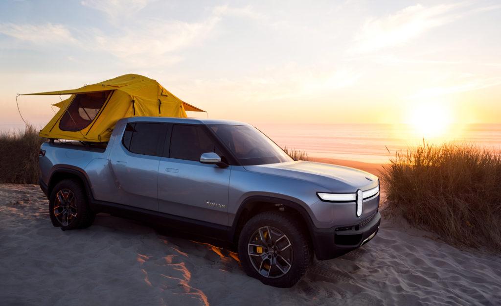 Rivian R1T Concept camper