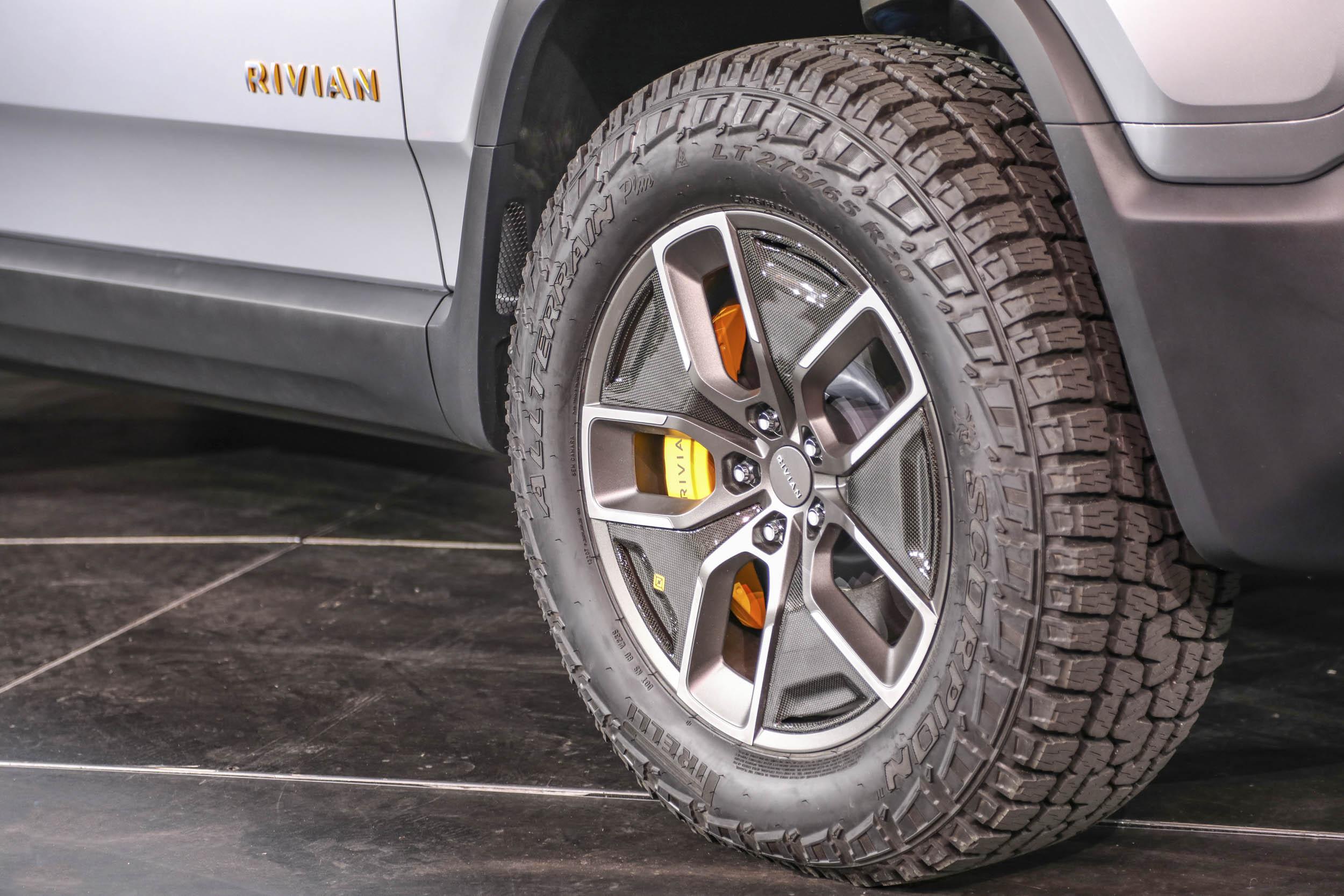 Rivian R1T wheels