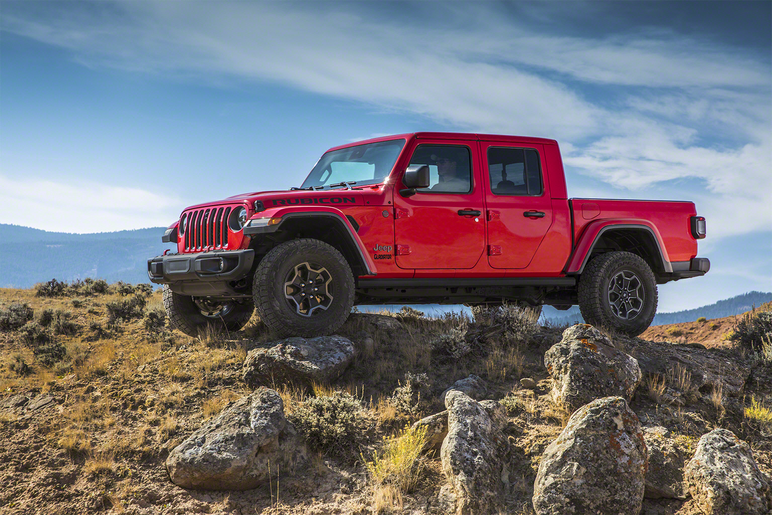 2020 Jeep Gladiator front 3/4